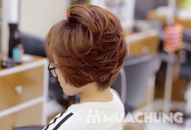 Trọn gói làm tóc cao cấp tại Viện tóc Đức Ngọc - 4