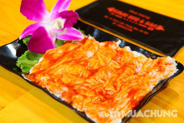 Buffet nướng lẩu tại bàn đặc sắc - Kumo BBQ & Bar - 11