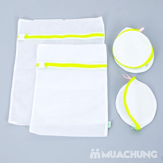 Bộ 4 túi giặt quần áo tiện dụng cho máy giặt - 3