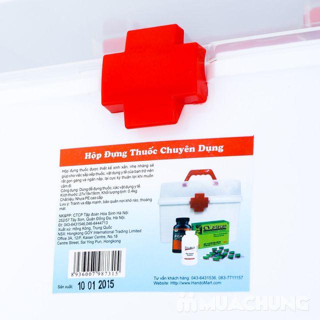 Ưu đãi giảm giá duy nhất tại Muachung cho Hộp đựng thuốc chuyên dụng. Nhanh tay mua để sở hữu ngay Hộp đựng thuốc chuyên dụng. - 11