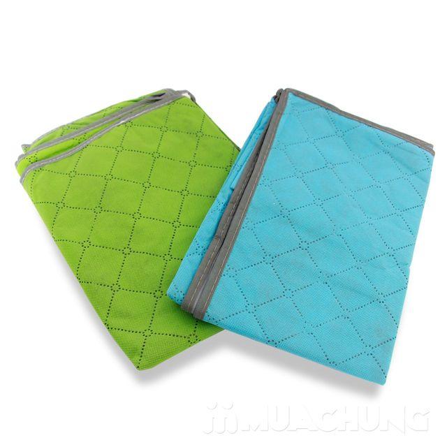 3 túi đựng đồ bằng vải không dệt - bảo quản quần áo, chăn màn, sử dụng tiện lợi - giảm giá duy nhất tại MuaChung - 1