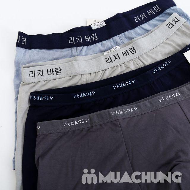 Combo 4 quần sịp đùi hàng xuất - 3