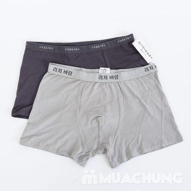 Combo 4 quần sịp đùi hàng xuất - 1