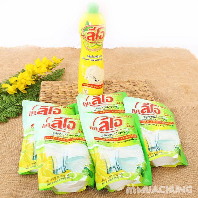Combo 5 túi + 1 chai nước rửa chén ALo Thái Lan - 8
