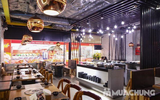 Buffet nướng lẩu ăn thả ga Galbi BBQ - Royal City - 32