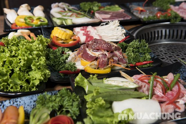 Buffet nướng lẩu ăn thả ga Galbi BBQ - Royal City - 3