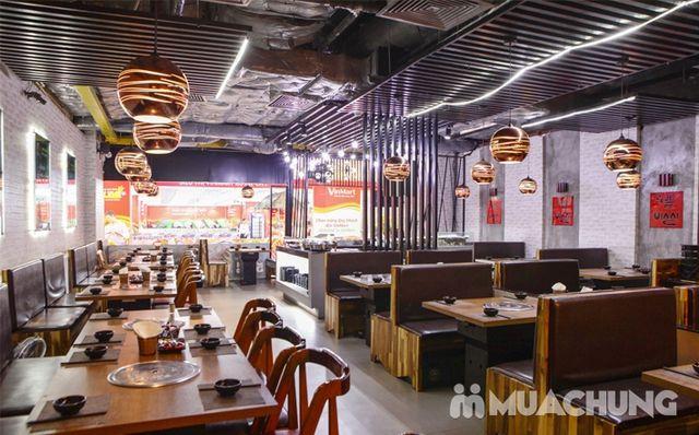 Buffet nướng lẩu ăn thả ga Galbi BBQ - Royal City - 33