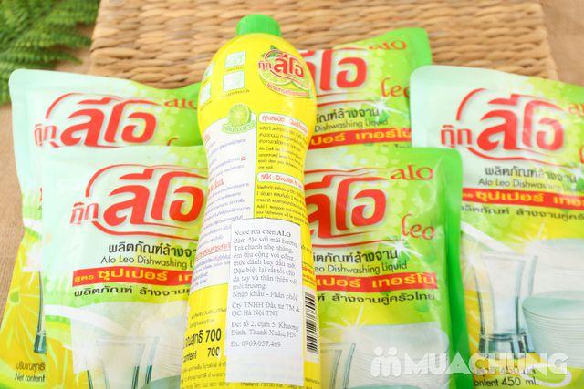 Combo 5 túi + 1 chai nước rửa chén ALo Thái Lan - 6