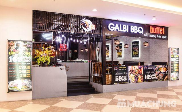 Buffet nướng lẩu ăn thả ga Galbi BBQ - Royal City - 30