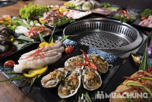 Buffet nướng lẩu ăn thả ga Galbi BBQ - Royal City - 2