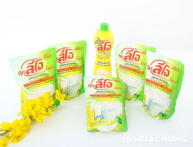 Combo 5 túi + 1 chai nước rửa chén ALo Thái Lan - 9
