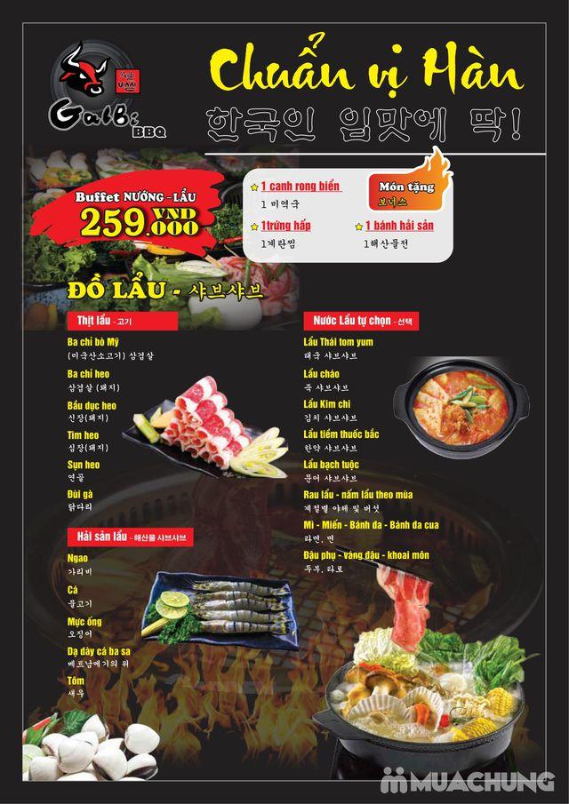 Buffet nướng lẩu ăn thả ga Galbi BBQ - Royal City - 37