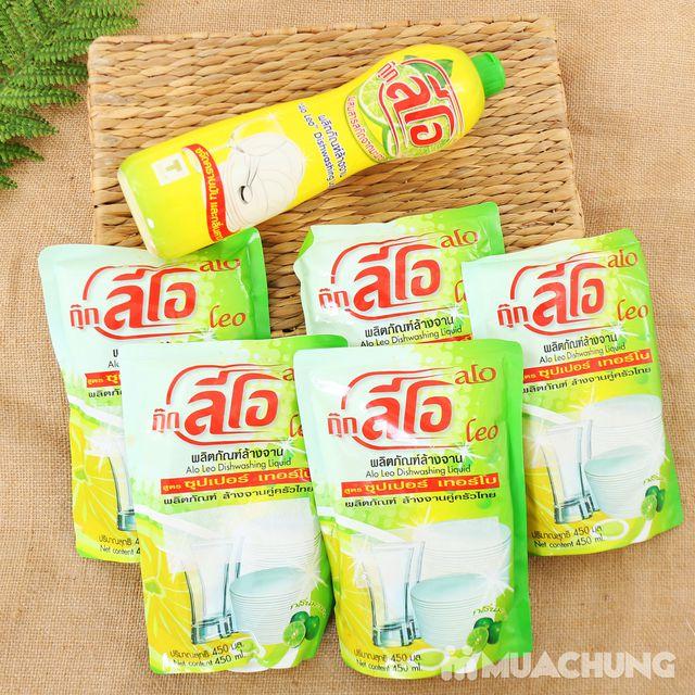Combo 5 túi + 1 chai nước rửa chén ALo Thái Lan - 5