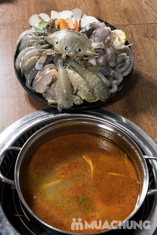 Buffet nướng lẩu ăn thả ga Galbi BBQ - Royal City - 24