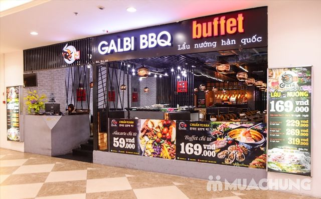 Buffet nướng lẩu ăn thả ga Galbi BBQ - Royal City - 35
