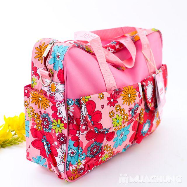 Túi xách họa tiết đa năng nhiều ngăn tiện dụng - 8
