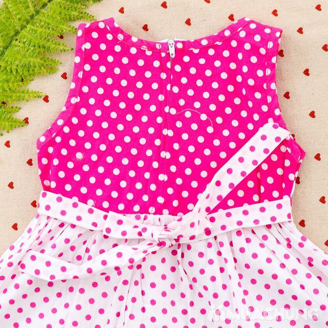 2 váy vải thô xinh xắn cho bé gái size từ 1-3  - 11