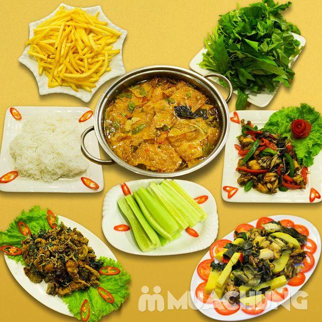Set lẩu ếch và nhiều món ăn kèm - NH Sơn Lâm - 1