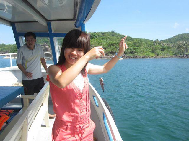 Câu cá -Lặn Bình khí - Khám phá Nam Đảo Phú Quốc 1 Ngày - 3