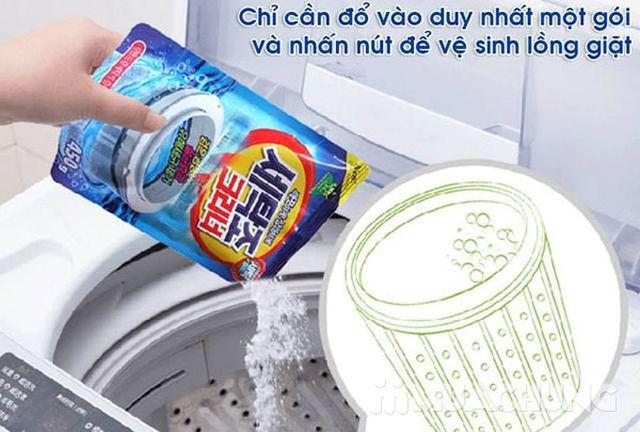2 túi bột tẩy vệ sinh lồng máy giặt Sandokkaebi  - 1