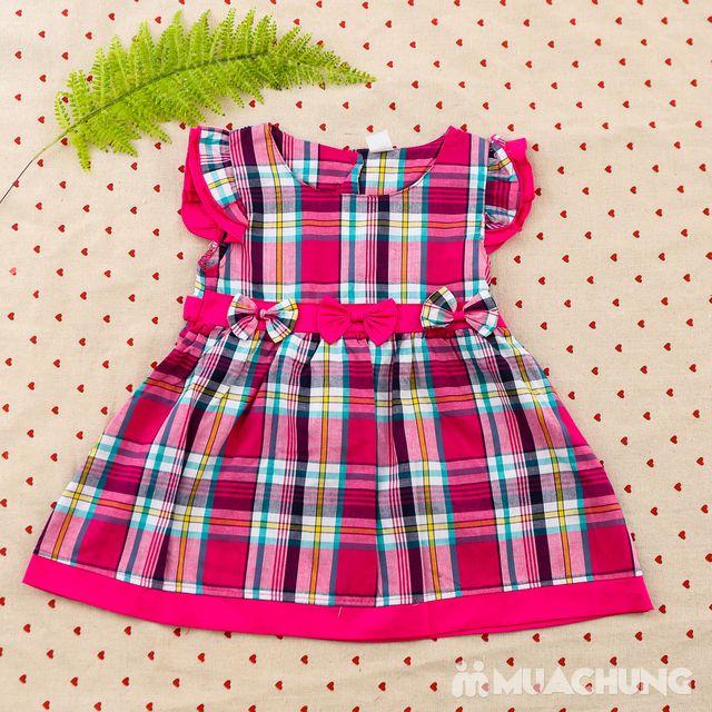 2 váy vải thô xinh xắn cho bé gái size từ 1-3  - 15