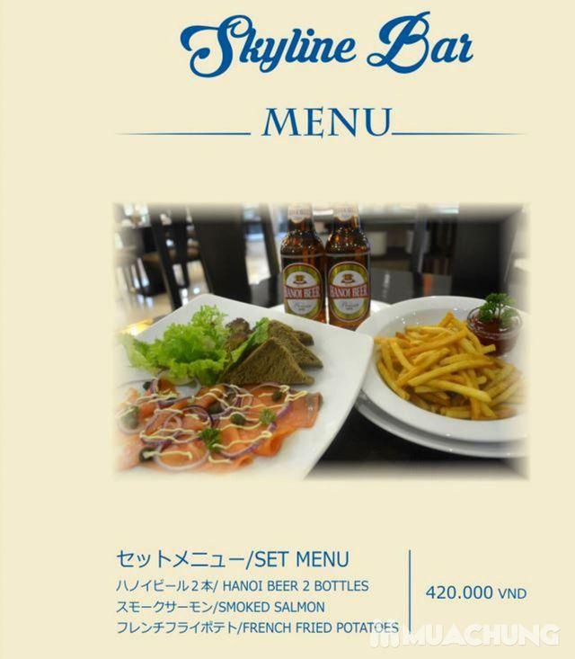 Voucher giảm giá dịch vụ ăn, uống Skyline Bar 4* Khách sạn Super Hotel Candle - 30