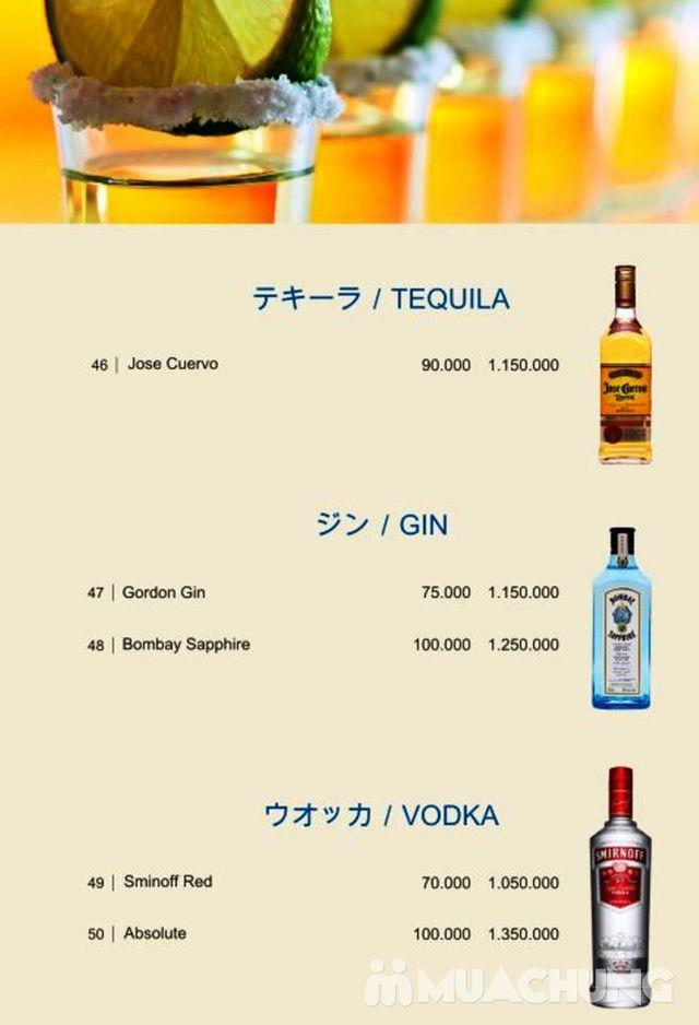 Voucher giảm giá dịch vụ ăn, uống Skyline Bar 4* Khách sạn Super Hotel Candle - 38