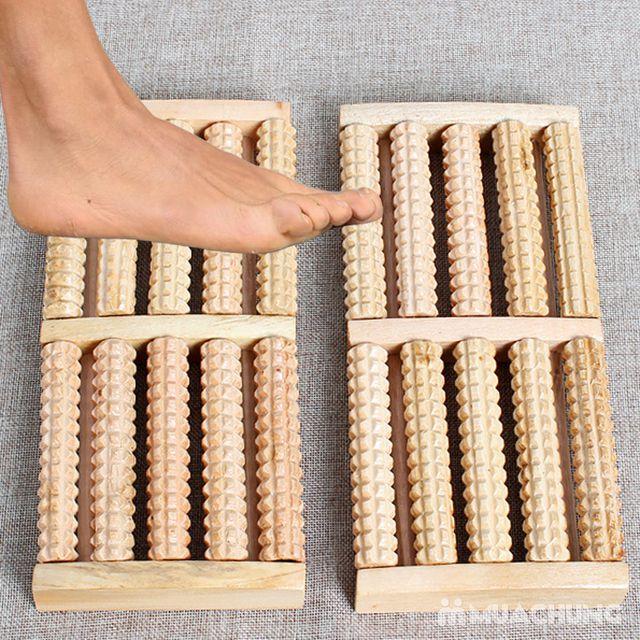 Dụng cụ massage chân di động bằng gỗ tiện dụng - 13