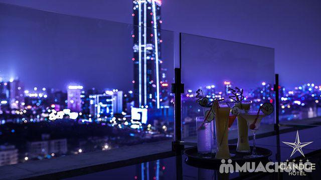 Voucher giảm giá dịch vụ ăn, uống Skyline Bar 4* Khách sạn Super Hotel Candle - 3