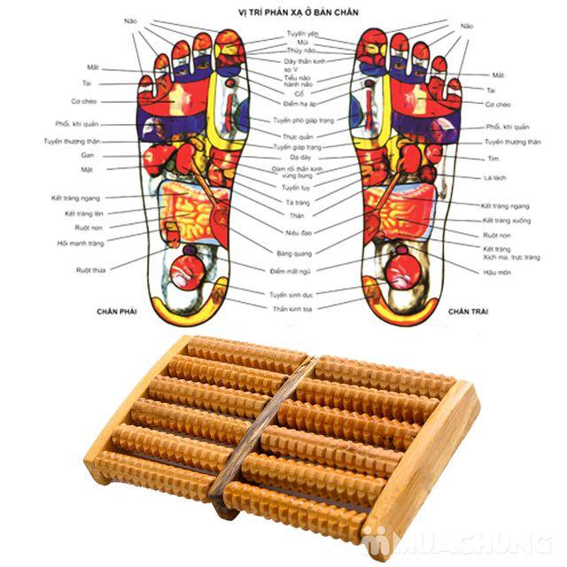 Dụng cụ massage chân di động bằng gỗ tiện dụng - 6