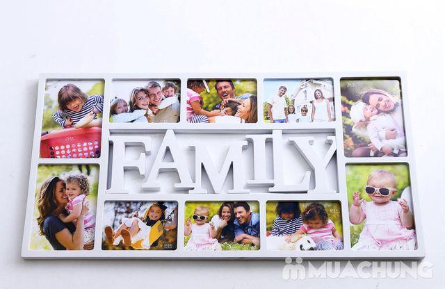 Khung ảnh treo tường Family hoặc Love độc đáo - 8