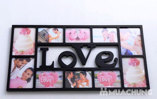 Khung ảnh treo tường Family hoặc Love độc đáo - 6