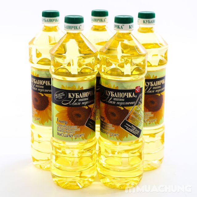 5 lít dầu ăn hướng dương Nga bổ dưỡng - 1