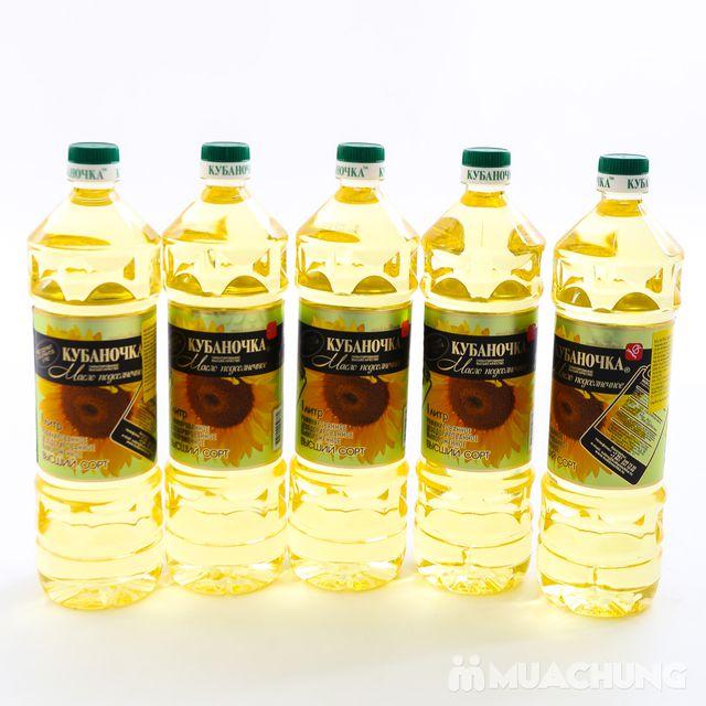 5 lít dầu ăn hướng dương Nga bổ dưỡng - 3