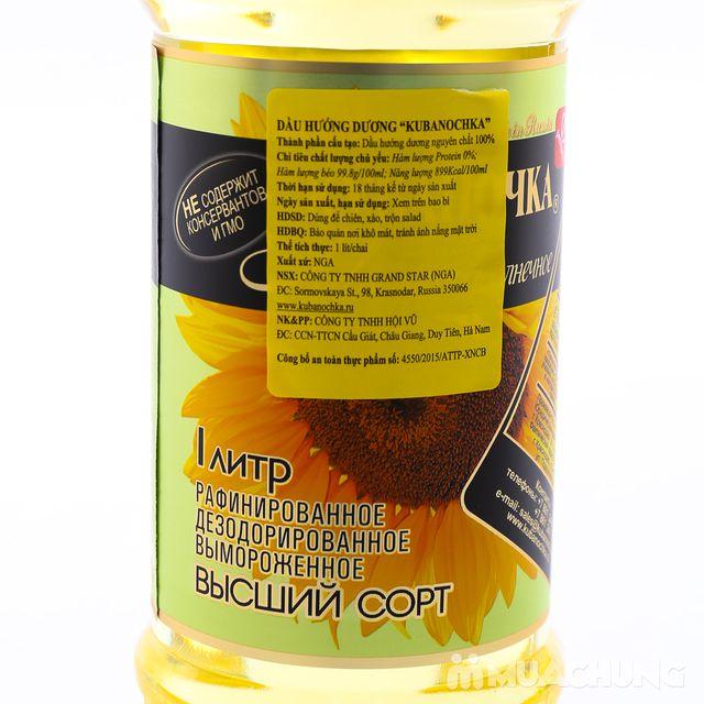 5 lít dầu ăn hướng dương Nga bổ dưỡng - 4