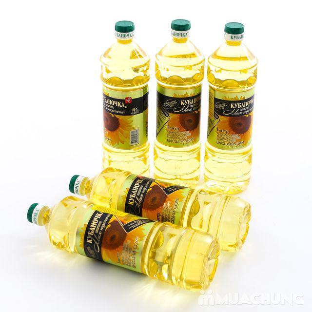 5 lít dầu ăn hướng dương Nga bổ dưỡng - 2