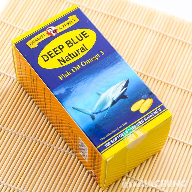Dầu cá Omega 3 Deep Blue Natural (hộp 100 viên) - 5