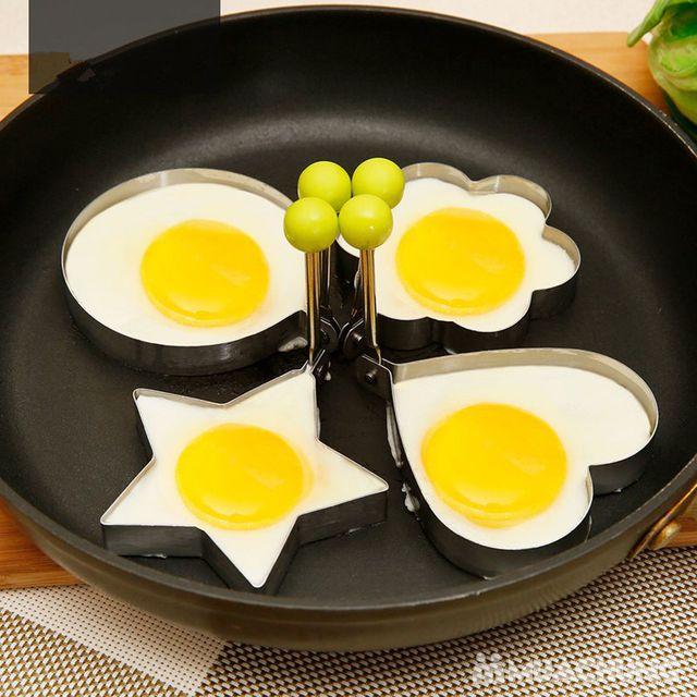Bộ 4 khuôn chiên bánh, chiên trứng độc đáo - 6