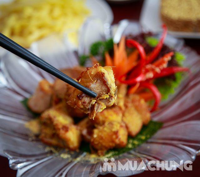 Lẩu riêu cua bắp bò, chả cá lăng Hong Kong cho 4N - 9