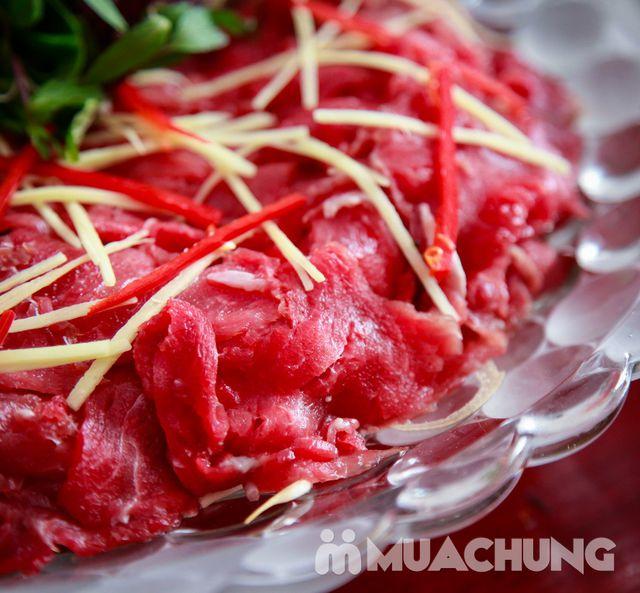 Lẩu riêu cua bắp bò, chả cá lăng Hong Kong cho 4N - 3