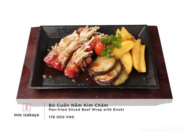 Voucher giảm giá toàn menu - NH Nhật Mio Izakaya - 11