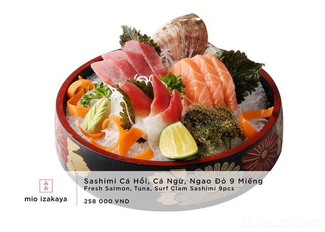 Voucher giảm giá toàn menu - NH Nhật Mio Izakaya - 36