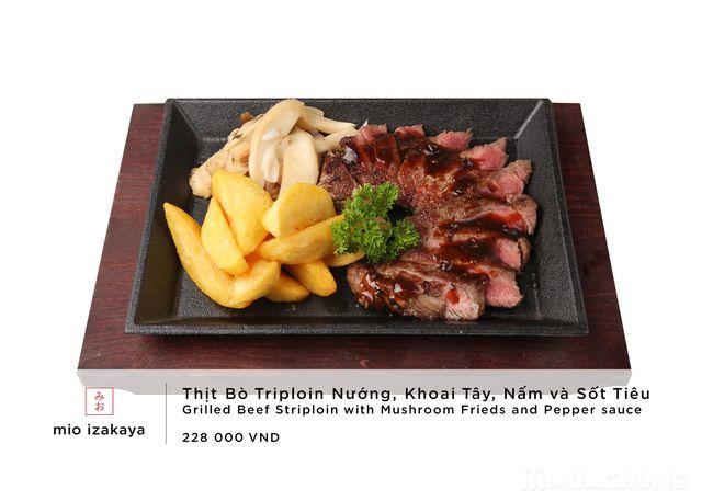 Voucher giảm giá toàn menu - NH Nhật Mio Izakaya - 43