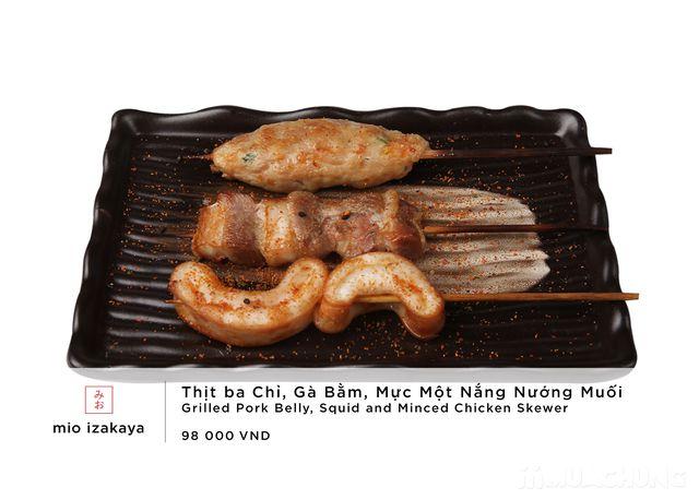 Voucher giảm giá toàn menu - NH Nhật Mio Izakaya - 40