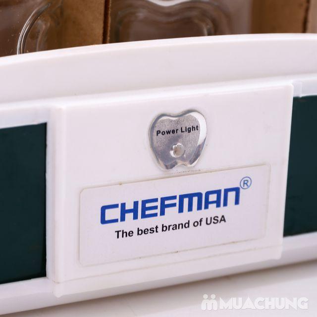 Máy làm sữa chua Chefman 12 cốc thủy tinh BH 2 năm - 4