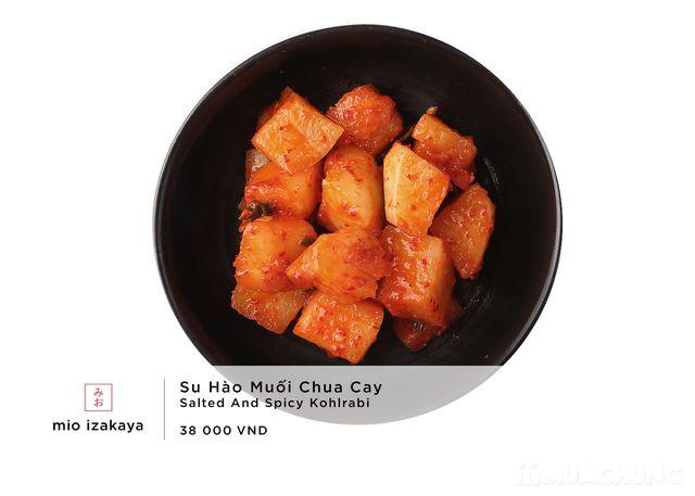Voucher giảm giá toàn menu - NH Nhật Mio Izakaya - 37