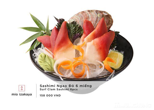 Voucher giảm giá toàn menu - NH Nhật Mio Izakaya - 34