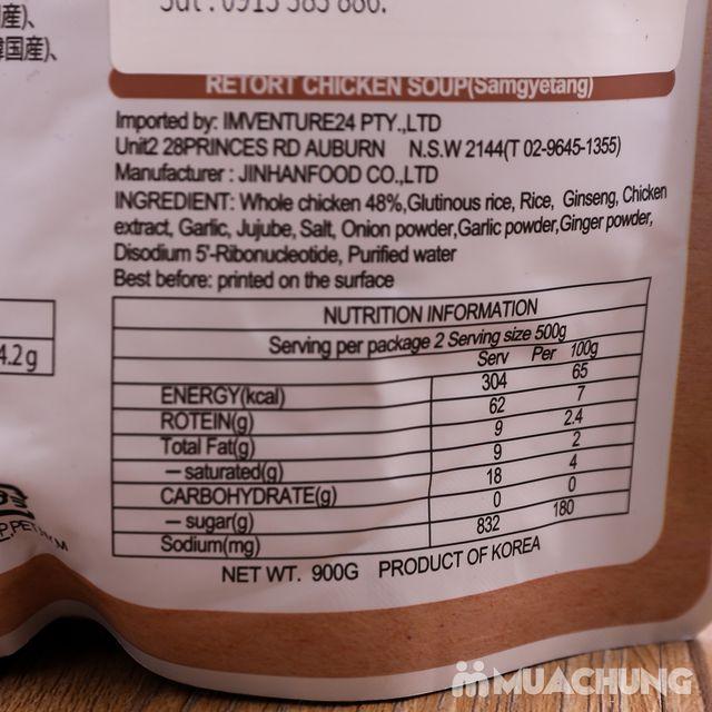 Gà tần sâm bổ dưỡng nhập khẩu Hàn Quốc (gói 900g) - 3