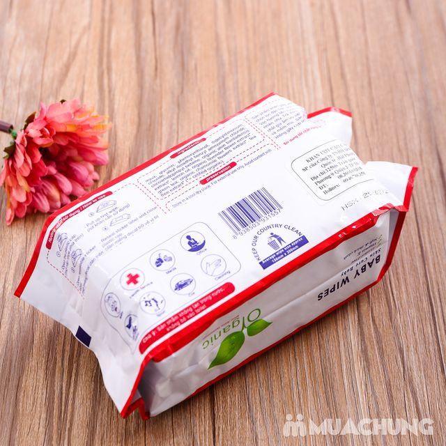 5 gói Khăn ướt không mùi AnfaBaby 100 tờ/gói - 14