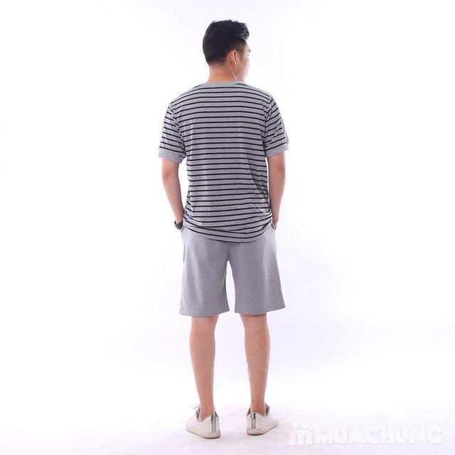 Bộ mặc nhà thể thao chất cotton khỏe khoắn - 7